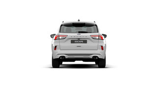 2020 Ford Escape ZH 2021.25MY ST-Line Frozen White 8 Speed Sports Automatic SUV