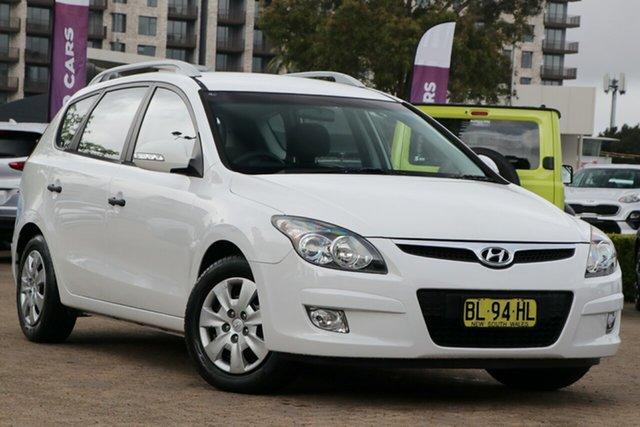 Used Hyundai i30 FD MY12 SX 1.6 CRDi, 2011 Hyundai i30 FD MY12 SX 1.6 CRDi White 4 Speed Automatic Hatchback