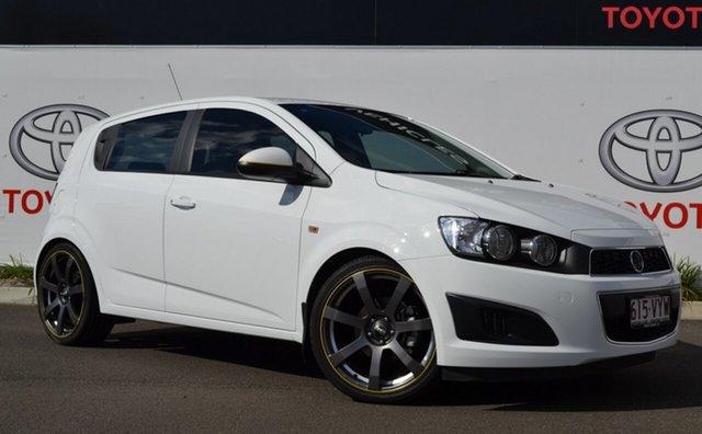 Used Holden Barina TM MY16 CD, 2015 Holden Barina TM MY16 CD White 6 Speed Automatic Hatchback