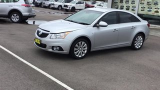 2014 Holden Cruze JH Series II MY14 CDX Silver 6 Speed Sports Automatic Sedan