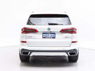 2018 BMW X5 G05 MY19 xDrive 30d M Sport (5 Seat) White 8 Speed Auto Dual Clutch Wagon