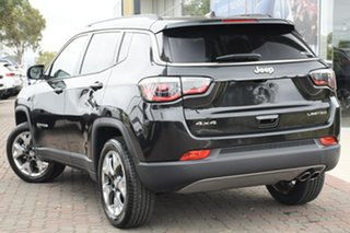 2020 Jeep Compass M6 MY20 Limited Brilliant Black 9 Speed Automatic Wagon.