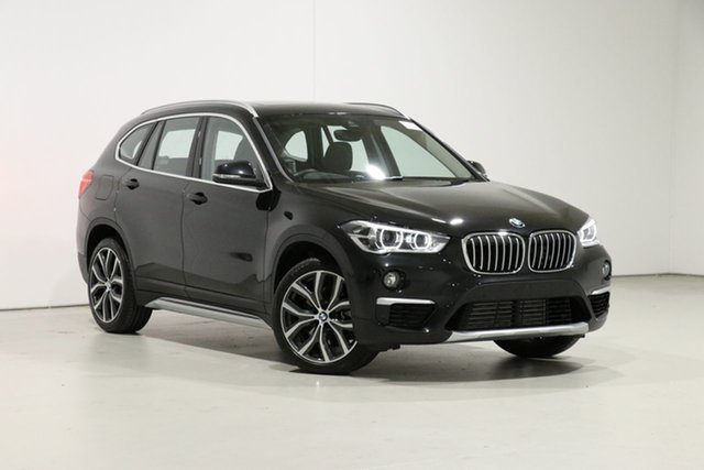 Used BMW X1 F48 MY19 xDrive 25I, 2019 BMW X1 F48 MY19 xDrive 25I Black 8 Speed Automatic Wagon