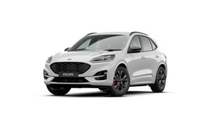 2020 Ford Escape ZH 2020.75MY ST-Line Frozen White 8 Speed Sports Automatic SUV.