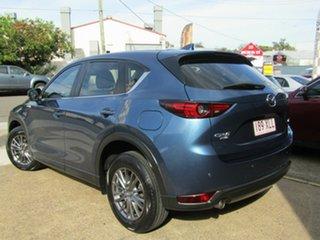 2017 Mazda CX-5 KF4WLA Maxx SKYACTIV-Drive i-ACTIV AWD Sport Blue 6 Speed Sports Automatic Wagon.
