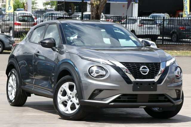 New Nissan Juke F16 ST+ DCT 2WD St Marys, 2020 Nissan Juke F16 ST+ DCT 2WD Gun Metallic 7 Speed Sports Automatic Dual Clutch Hatchback