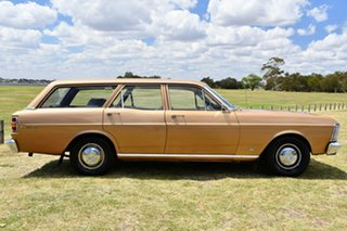 1969 Ford Falcon XW 500 Gold 3 Speed Automatic Wagon.