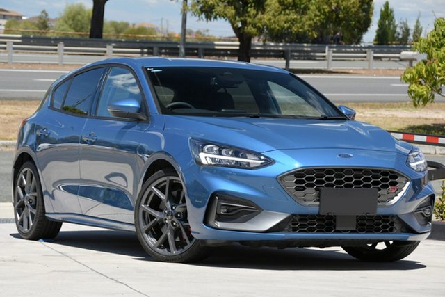 Used Ford Focus SA 2020.25MY ST North Lakes, 2019 Ford Focus SA 2020.25MY ST Blue 7 Speed Automatic Hatchback