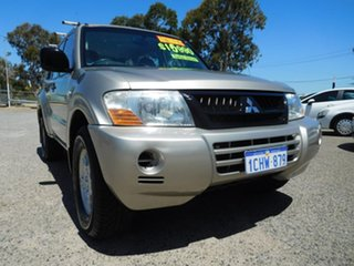2006 Mitsubishi Pajero NP MY06 GLX Beige 5 Speed Sports Automatic Wagon