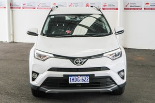 2017 Toyota RAV4 ASA44R MY17 GXL (4x4) Glacier White 6 Speed Automatic Wagon.