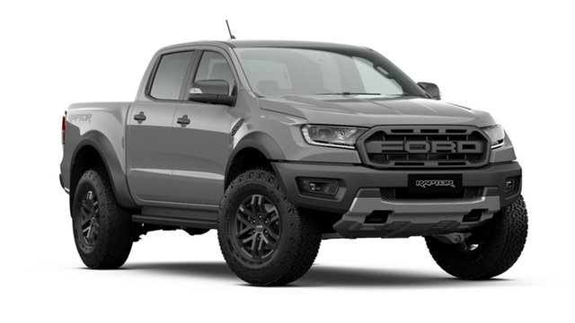 New Ford Ranger PX MkIII 2020.75MY Raptor, 2020 Ford Ranger PX MkIII 2020.75MY Raptor Conquer Grey 10 Speed Sports Automatic Double Cab Pick Up