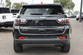 2020 Jeep Compass M6 MY20 Limited Brilliant Black 9 Speed Automatic Wagon