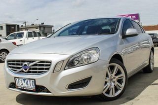 2012 Volvo S60 F Series MY12 T6 Geartronic AWD Silver 6 Speed Sports Automatic Sedan.