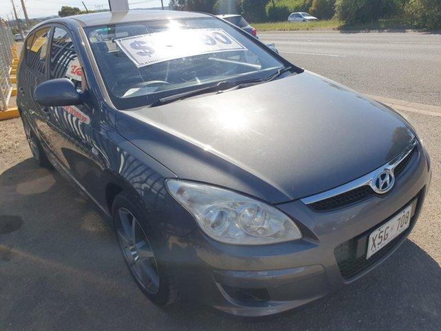 Used Hyundai i30 FD MY09 SX Morphett Vale, 2008 Hyundai i30 FD MY09 SX Charcoal 5 Speed Manual Hatchback