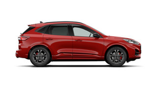 2021 Ford Escape ZH 2021.25MY ST-Line Lucid Red 8 Speed Sports Automatic SUV
