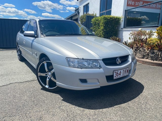 Used Holden Commodore VZ Lumina, 2004 Holden Commodore VZ Lumina Silver 4 Speed Automatic Sedan