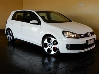 2012 Volkswagen Golf 1K MY12 GTi White 6 Speed Manual Hatchback