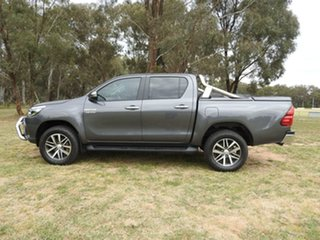2017 Toyota Hilux SR5 Grey 6 Speed Automatic Utility.