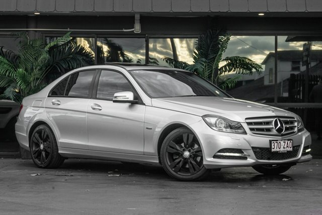 Used Mercedes-Benz C-Class W204 MY11 C200 BlueEFFICIENCY 7G-Tronic +, 2011 Mercedes-Benz C-Class W204 MY11 C200 BlueEFFICIENCY 7G-Tronic + Silver 7 Speed Sports Automatic
