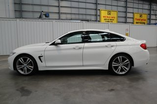 2016 BMW 4 Series F36 420i Gran Coupe M Sport White 8 Speed Sports Automatic Hatchback