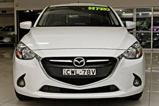 2014 Mazda 2 DJ2HAA Genki SKYACTIV-Drive White 6 Speed Sports Automatic Hatchback