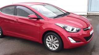 2014 Hyundai Elantra MD3 Trophy Red 6 Speed Manual Sedan.
