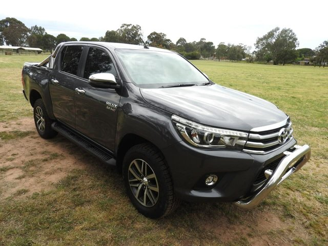 Used Toyota Hilux  , 2017 Toyota Hilux SR5 Grey 6 Speed Automatic Utility