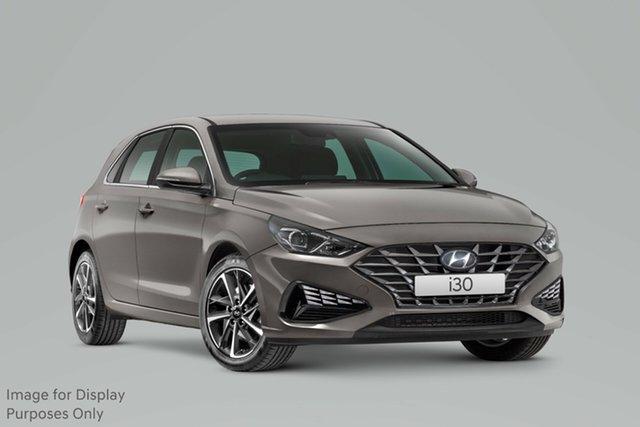 New Hyundai i30 PD.V4 MY21 Elite Nailsworth, 2020 Hyundai i30 PD.V4 MY21 Elite Fluidic Metal 6 Speed Sports Automatic Hatchback
