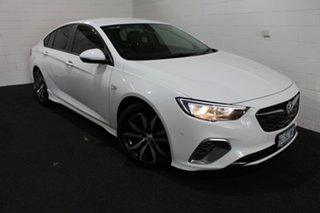 2018 Holden Commodore ZB MY18 RS Liftback Summit White 9 Speed Sports Automatic Liftback.