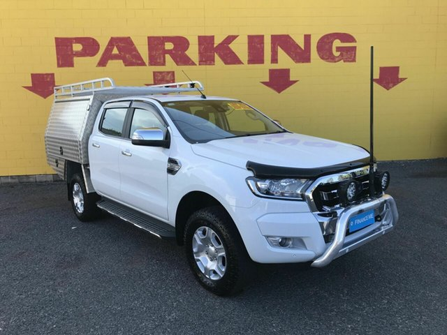 Used Ford Ranger PX MkIII 2020.25MY XLT, 2020 Ford Ranger PX MkIII 2020.25MY XLT White 6 Speed Sports Automatic Double Cab Pick Up