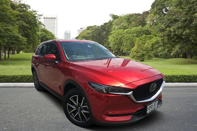 Used Mazda CX-5 KE1032 Akera SKYACTIV-Drive i-ACTIV AWD, 2017 Mazda CX-5 KE1032 Akera SKYACTIV-Drive i-ACTIV AWD Red/Black 6 Speed Sports Automatic Wagon