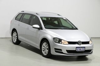 2015 Volkswagen Golf AU MY15 90 TSI Comfortline Grey 7 Speed Auto Direct Shift Wagon