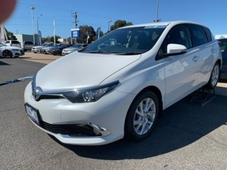 2015 Toyota Corolla SPORT White Automatic Hatchback.