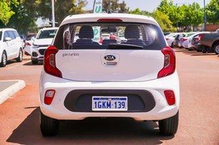 2017 Kia Picanto TA MY17 SI White 4 Speed Automatic Hatchback.