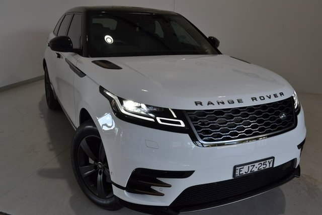 Used Land Rover Range Rover Velar L560 MY19.5 D240 AWD R-Dynamic S, 2018 Land Rover Range Rover Velar L560 MY19.5 D240 AWD R-Dynamic S White 8 Speed Sports Automatic