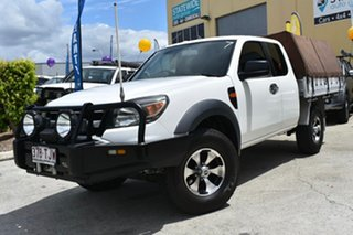 2009 Ford Ranger PJ 07 Upgrade XL (4x4) White 5 Speed Manual Super Cab Utility