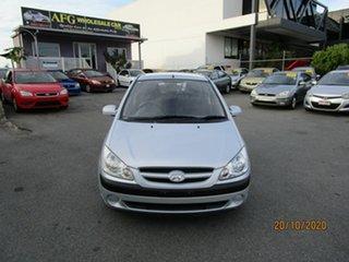 2006 Hyundai Getz TB Upgrade 1.4 Silver 4 Speed Automatic Hatchback.