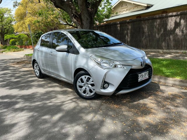 Used Toyota Yaris NCP131R SX, 2017 Toyota Yaris NCP131R SX Silver 5 Speed Manual Hatchback