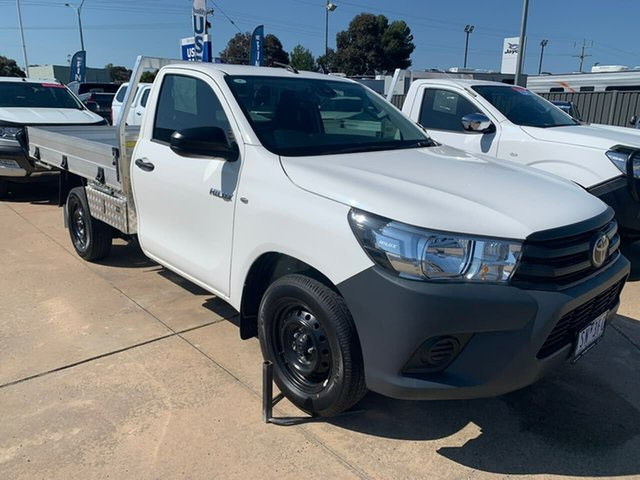 Used Toyota Hilux  , 2019 Toyota Hilux WORKMATE White 5 Speed Manual Cab Chassis
