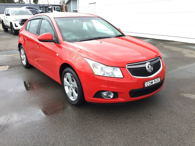 Used Holden Cruze JH Series II MY13 Equipe, 2013 Holden Cruze JH Series II MY13 Equipe Red 6 Speed Sports Automatic Hatchback