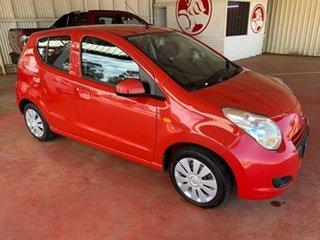 2012 Suzuki Alto GF GL Red 5 Speed Manual Hatchback