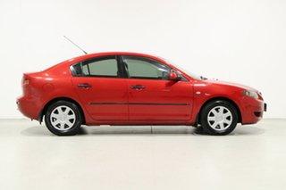2006 Mazda 3 BK Neo Red 5 Speed Manual Sedan