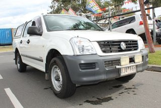 2005 Holden Rodeo RA MY05.5 Upgrade LX White 5 Speed Manual Crew Cab Pickup