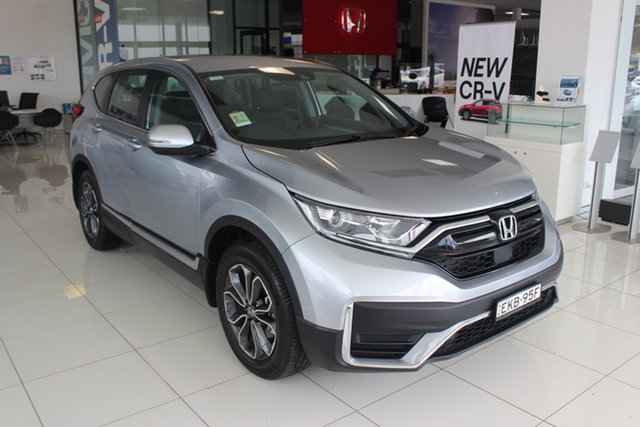 Demo Honda CR-V RW MY21 VTi 4WD L AWD, 2020 Honda CR-V RW MY21 VTi 4WD L AWD Lunar Silver 1 Speed Constant Variable Wagon