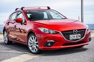 2014 Mazda 3 BM5436 SP25 SKYACTIV-MT Red 6 Speed Manual Hatchback.