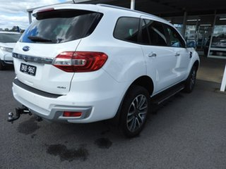 Ford Everest titanium White Automatic SUV.