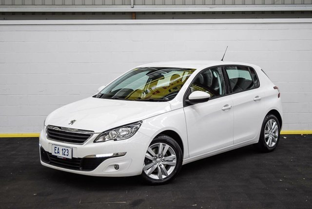 Used Peugeot 308 T9 Active Canning Vale, 2016 Peugeot 308 T9 Active White 6 Speed Sports Automatic Hatchback