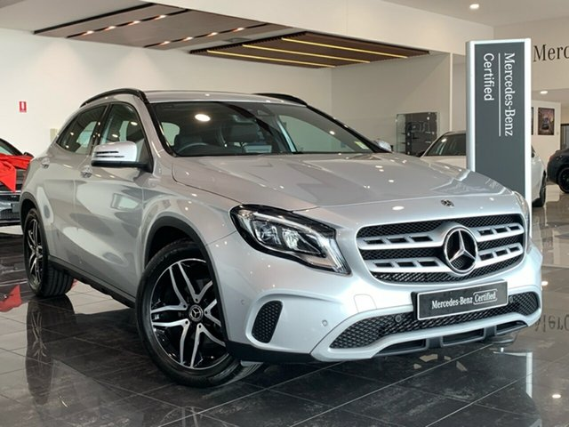 Used Mercedes-Benz GLA-Class X156 809+059MY GLA180 DCT Hervey Bay, 2019 Mercedes-Benz GLA-Class X156 809+059MY GLA180 DCT Silver 7 Speed Sports Automatic Dual Clutch