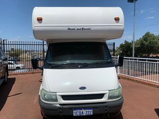 2004 Ford Ford Transit 125 T350 White Motor Home.