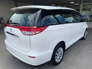 2018 Toyota Tarago ACR50R GLi White 7 Speed Constant Variable Wagon.
